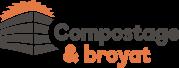 Logo compostage et broyat